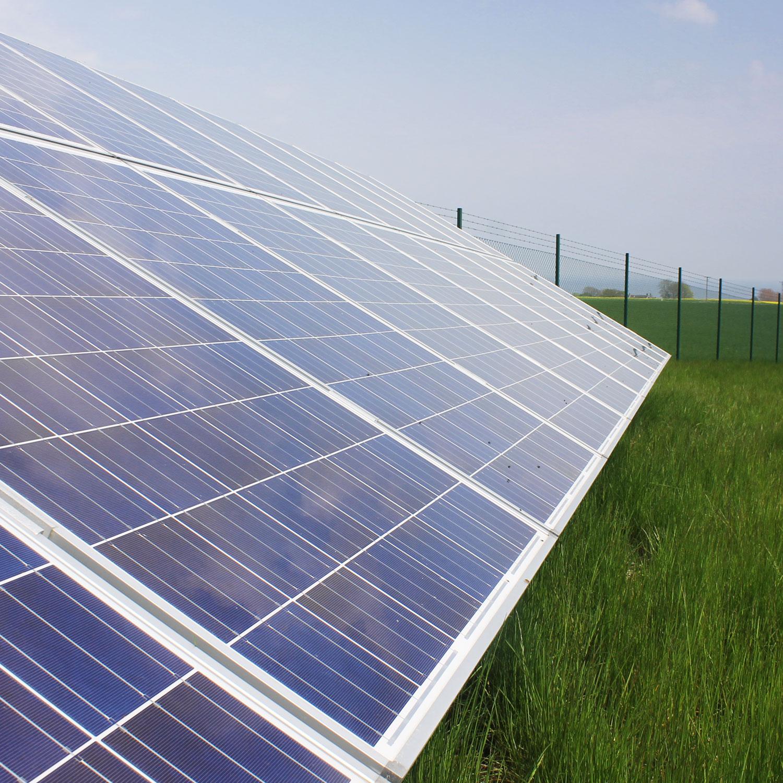 Solceller i Simris, Sveriges första solcellspark