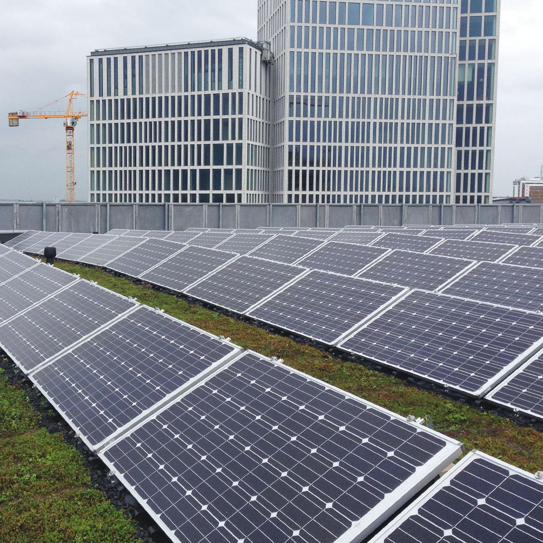 solceller referens Malmö konserthus