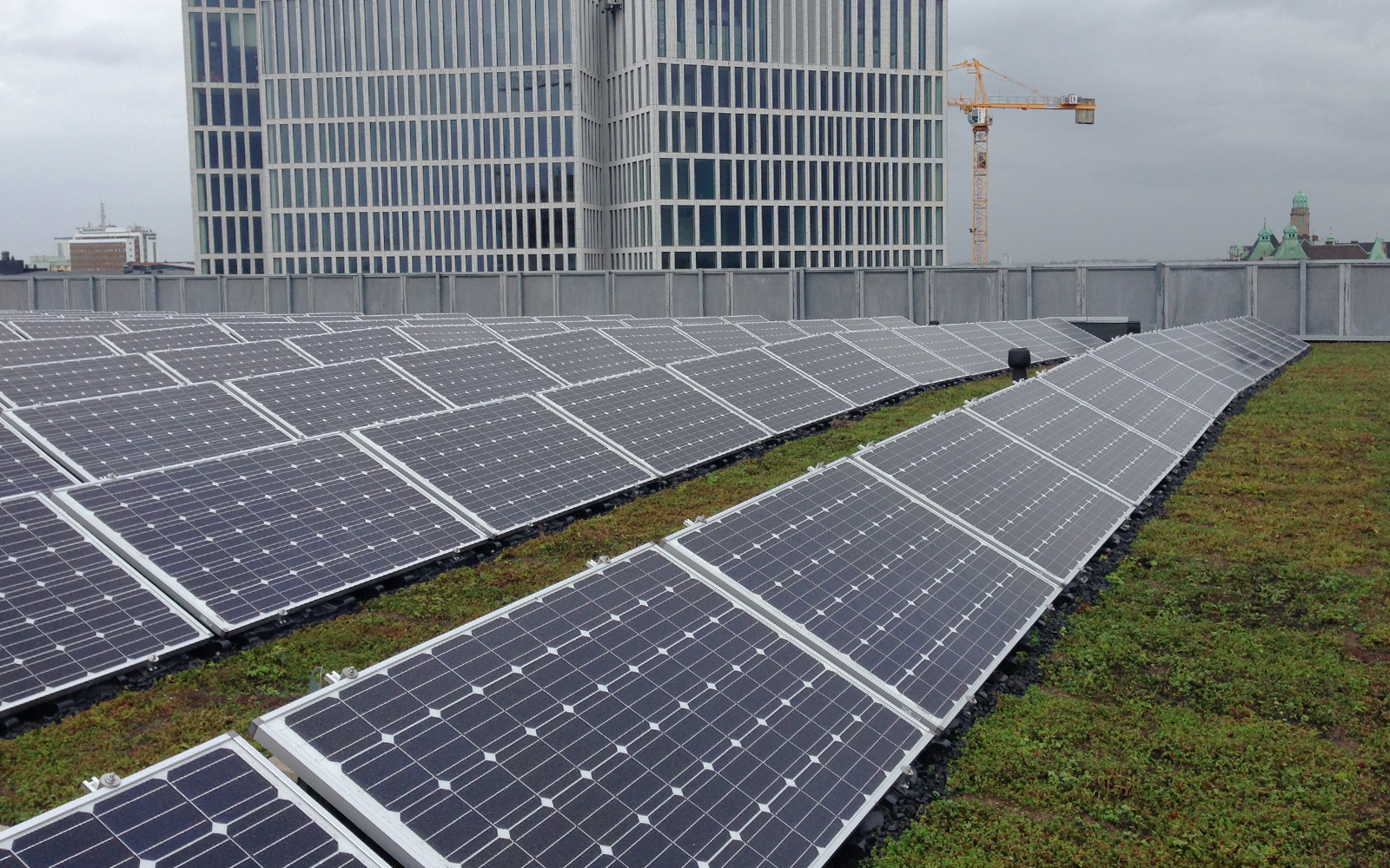 solpaneler i Malmö, tak